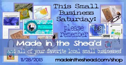 small business saturday: please shop local!