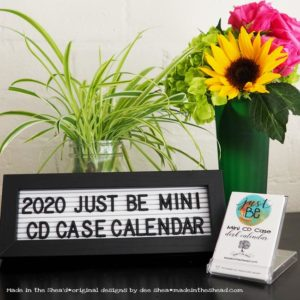 main photo just be mini calendar 2020