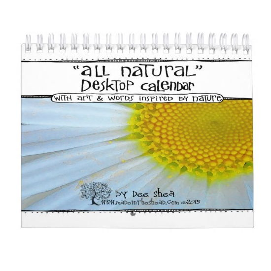 All Natural Wall Calendar | Made in the Shea\'d