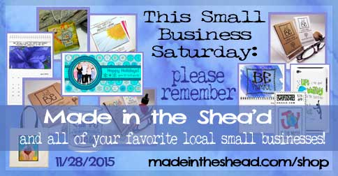 small business saturday: please shop local!