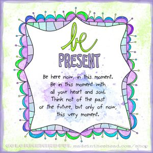 be present page form color me mindful coloring book