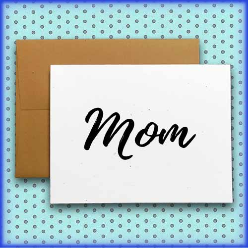 mother's day cards in the shop