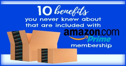 10 benefits you never knew about that are included with amazon prime membership