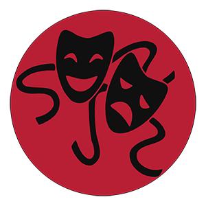 illustration drama masks