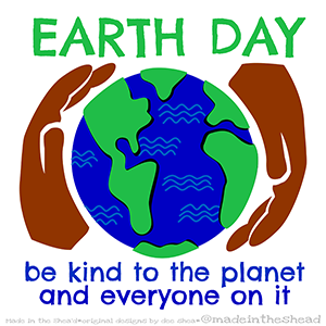 illustration earth day 2020
