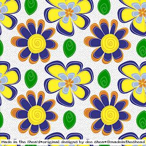 illustration floral pattern1 color1