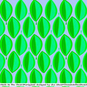 illustration leaf pattern1 color1