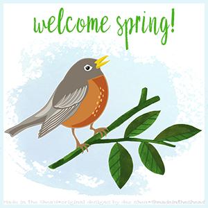illustration welcome spring 2019